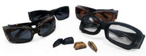 small and large moisture release eyewear